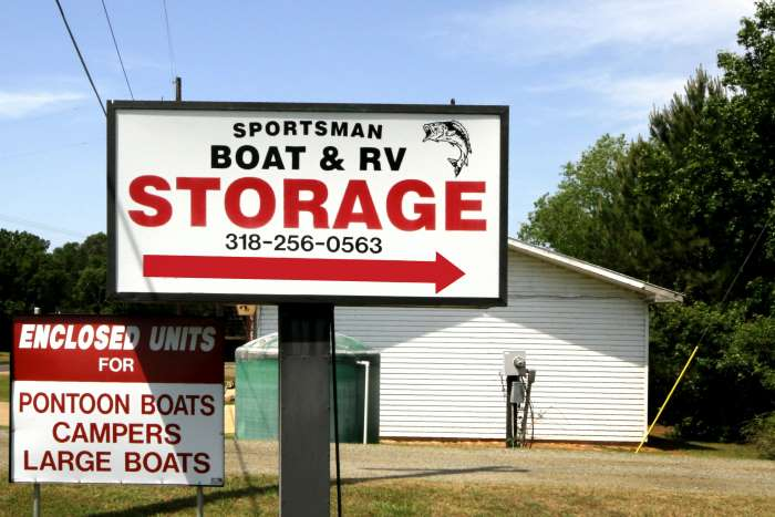 Boat & RV Storage – 12′ x 30′ & Up – Reference #00300